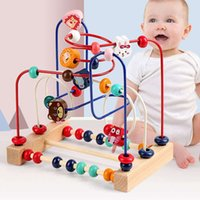 Baby Children Around Beads 6-12 Months Beading Early Teaching Intelligent Toys Boys And Girls Building Blocks 1-2 Weeks 3 Years Old Puzzle