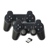 Bluetooth Wireless Gaming Controller For PS3 2.4G wireless doubles game keyboard Android smart TV box PC 360ps3