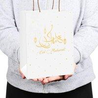 1pcs Fashion Reusable Eid Mubarak Gifts Bags Party Supplies Eco-Friendly Decoration Celebration Ramadan Happy B F0D7 Gift Wrap 4GBG 63Q6