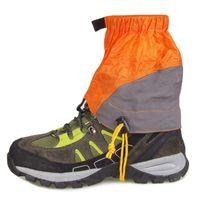 Поддержка голеностопных альпинистских защитных Обувь Чехол Короткая Водонепроницаемая Слеветельно Устойчивая Песок Предотвращение Силиконовые Нейлон Открытый Вослить альпинизм