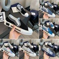 مصمم أحذية رياضية b23 منحرف منخفضة أعلى رجل حذاء رياضة B24 التقنية قماش جلدية المرأة عارضة الأحذية عالية الجودة المدربين الفضي