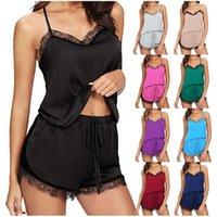 Women's Sleepwear Underwear Nightie Sexy Lingerie Set Bra And Panty Lace Nightgown Summer Nightwear Sleep Homewear