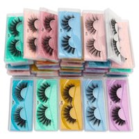Wholesale 10-15mmo Lashes Eye Wispy Faux Mink Eyelashes Thick Fake Lash Makeup Natural Long False Eyelash Extension In Bulk Cilios