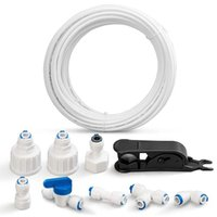 Watering Equipments Water Supply Pipe Universal Connection Set 15M,for Side By Refrigerator,Reverse Osmosis System (1 4Inch)