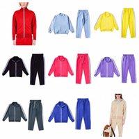 Palmes de Sports Mans Femmes Casual Vestes Décontractés Pantalon de vêtement extérieur Veste Mens Veste Sporting Jacket Sporting Angels Suit Set S-XL