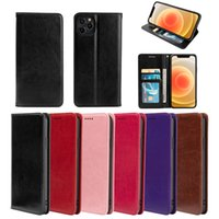 Strong Magnetic Phone Cases For iPhone 12 13 Mini 11 Pro Max XR XS 6 7 8 Plus Leather Wallet Cover