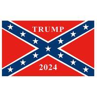 미국 남부 동맹 트럼프 2020 플래그 3x5ft, 80 % 블리드, 야외 광고 실내 광고 디지털 인쇄