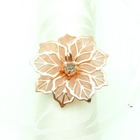 Notas de la servilleta de boda Tenedores de metal para cenas de partido Decoración de la mesa del hotel Suministros de decoración Búble BWD6178