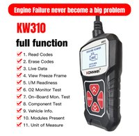 KONNWEI KW310ユニバーサルOBD2 OBDIIカースキャナープロフェッショナルオートモーティブコードリーダー車診断スキャンツール