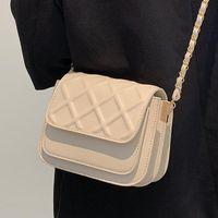 Shoulder Bags High Quality Diamond Small Bag Female Summer 2021 Trendy Fashion Chain Square Wild Single Messenger