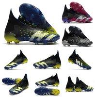 2021 Prédateur Freak + FG PP Mens Boys Football Chaussures de football 21 + x Tarcles Bottes Haute cheville Taille 39-45