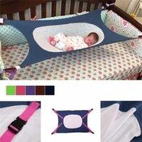 Born Baby Hammock Bed Detachable Portable Folding Crib 5 Color Cribs