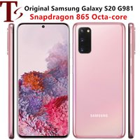 "Refurbished Samsung Galaxy S20 G981U G981U1 128GB 12GB Unlocked Original Mobile Phone Octa Core 6.2"" Triple Cameras RAM NFC"