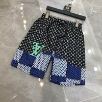 2021 diseñadores estilo impermeable Tela Pantalones Pantalones Pantalones de Playa de verano Pantalones cortos Tableros para hombre Pantalones cortos de surf Shorts Swim Troncs Pantalones cortos deportivos