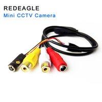 CMOS Analog Camera Mini Home Security Video Surveillance 6pcs 940nm IR LEDs Smallest AV Cameras IP