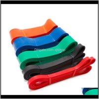 Supplies Sports & Outdoorsmultifunction 2080Mm Belts Elastic Resistance Loop Bands Yoga Toughness Stretch Band For Gym Home Exercise Fitness