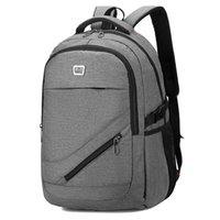 Backpack Gray 15.6 Laptop Men Multifunction USB Notebook Back Pack Male Large Oxford Student Women Bagpack For Teenage 2021