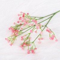 Decorative Flowers & Wreaths 1Pc 60cm Babies Breath Artificial Plastic Gypsophila DIY Floral Bouquets Arrangement For Wedding Party Home Dec