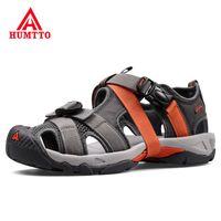 Brand Sandals Men Mens Casual Outdoor Non-slip Wear-resistant Breathable Mesh Skynet Lightweight Summer Shoes 210624