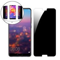 Protections d'écran de téléphone portable Verre trempé anti-espion pour Huawei Nova 3 3I 3e Nova3 Nova3i Nova3e Protecteur de confidentialité