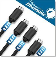 프리미엄 2A 고속 마이크로 USB 케이블 타입 C 케이블 전력선 4 길이 1m 1.5m 2m 3M Sync Quick Charging 2.0 삼성 갤럭시 S21 Note20 울트라 안드로이드 전화, eppioneer