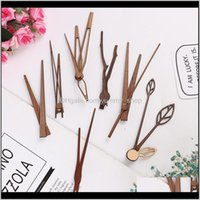 Clocks Décor Home & Gardenwalnut Wall Clock Pointer Diy Hour Minute Hand Second Parts 12 14 Inch Drop Delivery 2021 P9Nyd