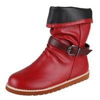 winter women's Motorcycle boots 2020 new thick heel riding boots soft leather fashion casual womens shoes Large size platform