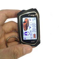 Système d'alarme de voiture Universal Deux voies LCD Démarrage à distance Start Cars Systèmes de sécurité