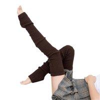 Socks & Hosiery Autumn Winter Women Anti-Slip Knee High Knitted Warm Long Yoga