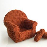 3 stücke / satz Neugeborenes Baby posiert Mini Sofa Arm Stuhl Kissen Säuglinge Fotografie Requisiten Poser Fotozubehör 2481 Q2