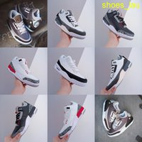 Kaws X 3S أحذية كرة السلة Jumpman 3 Brown White Trainers الرياضة أحذية رياضية حجم الولايات المتحدة 7-13