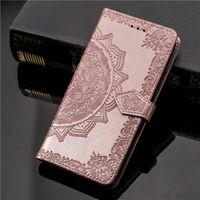 Motyl Flip Leather Phone Case dla iPhone12Promax 7 6 6S 8 plus Wallet Karta Gniazda Coque Case dla iPhone X XS 11 Pro Max XR