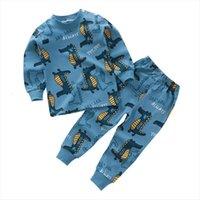 Pyjama Bebe Unisex 12m 5t Pajamas Kids Toddler Cotton Clothes Boys Girls Underwear Autum Winter Nightwear Sets