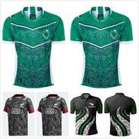 2021 Maori All Stars Indígena Adulto Alta Qualidade Rugby Jersey Tamanho: S-5XL