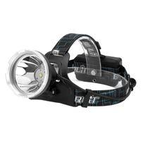 Boruit XM-L2 Led 헤드 램프 슈퍼 밝은 큰 컵 캠핑 빛 USB 충전식 헤드 18650 배터리 미니 램프; 3 개의 헤드 램프