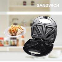 Bread Makers 750W Electric Sandwich Maker Mini Breakfast Machine Hamburger Fried Egg Waffle Toaster Multifunction Sandwichera