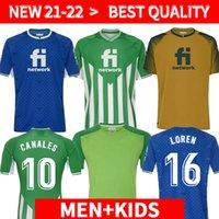 Homem + Kids 21 22 22 Real Betis Futebol Jerseys Joaquin Loren 2021 2022 Camisas de Futebol Boudebouz Bartra Home 3rd 4th Treinamento Terno Comemorativo Edição Fekir 8