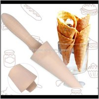 Moulds Bakeware Kitchen, Dining Bar Home & Gardenttlife Roll Egg Pancake Mold Ice Cone Maker Aessories Waffle Cake Baking Tool Pan Tools Drop