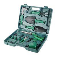 Spade & Shovel 5pcs 10pcs Garden Tool And Bonsai Tools Set Scissors With Gloves Gardening Gifts Trowel Pruners