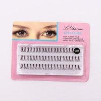 False Eyelashes 60pcs Set 8 10 12 Mm Individual Lashe Black Natural Fake Eyelash Long Cluster Extension Makeup Beauty Health 8 10 12mm
