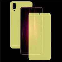 Mobiltelefon-Bildschirmschilder 9D-Vorderseite HYDROGEL-Film für Sony XZ1 XZ3 XZ XZ2 PREMIUM XA2 Plus / Ultra1 10 Protector nicht gehärtet