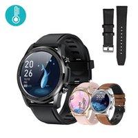 Designer Luxo Marca Relógios Youth2 Monitor de Temperatura Corpo Inteligente Monitor Inteligente Fitness Esperado ES impermeável mulheres pulso para homens