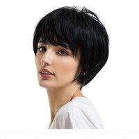 Бразильские девственницы Pixie Pixie волосы парики дешевые короткие пикси вырезать кружевные фронтские парики без глиной кружевные фрогии для черных женщин-поставщиков волос