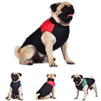 Dog Apparel Autumn Winter Fashion Comfortable Pet Clothes Classic Color Matching Down Vest Animaux Accessoires Chien Drop