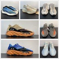 Atacado 2021 Novo 700 Low Sun Azul Laranja Homens Running Sapatos Treinadores Treinamento Esportes Fashion Top Quality Out Door Trainers com Caixa Melhor Treinamento Tamanho 4-13 GW0297