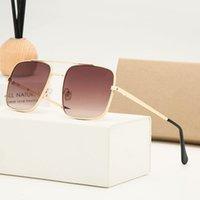 패션 클래식 디자인 남성을위한 2021 명품 럭셔리 선글라스 여성 조종사 태양 안경 UV400 안경 금속 프레임 폴라로이드 렌즈 8932 Bo