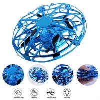 Party Geschenke UFO Vierachse Induktion Flugzeug Suspension Geste Kontrolle Mini Drohne Kinderspielzeug CA14