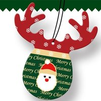 Interior Decorations Air Freshener Cute Antlers Fragrance Papers Decor Tools Ornaments Accessories Office HomeChristmas Car Hanging