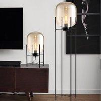 مصابيح الكلمة مصباح الشمال مصباح الزجاج عاكس الضوء الحديثة نمط الصناعية الإبداعية تصميم الجدول غرفة المعيشة دراسة داخلي ضوء ديكو