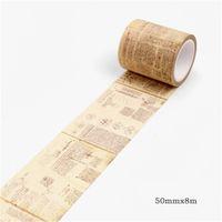 Журнал ретро Washi ленты старинные готические украшения скрапбукинг маскирующие ленты стикер журнала база декоративных канцелярских товаров 1253 v2